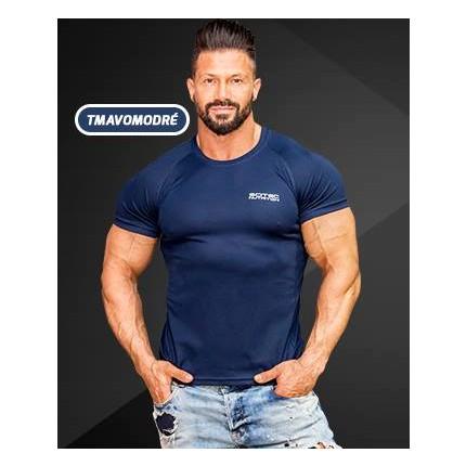 Pánská kolekce - SCITEC NUTRITION - Funkční tričko (tmavě modrá)