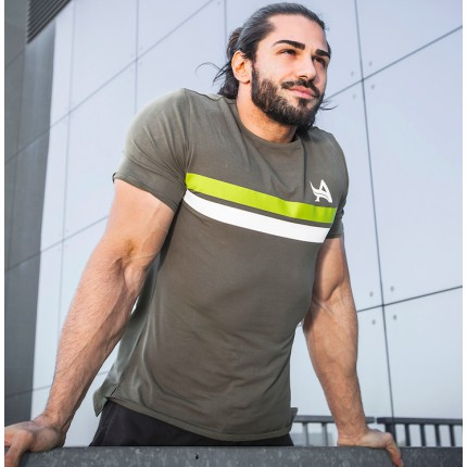 Pánska kolekce - Aesthetix Era - Fitness tričko (zelená) (01.040)
