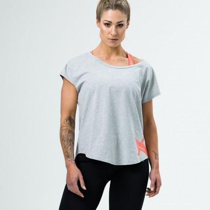 Dámská kolekce - Aesthetix Era - Dámské triko na cvičení (šedá) (51.001)