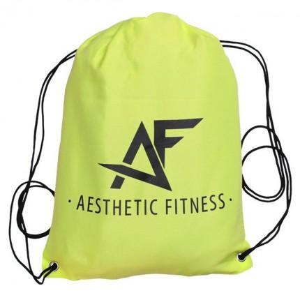 Pánská kolekce - Aesthetic Fitness - Sportovní vak (zeleno-černá)