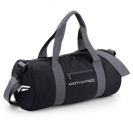 Pánská kolekce - MOTIVATED - Sportovní taška (černo-šedá) 320