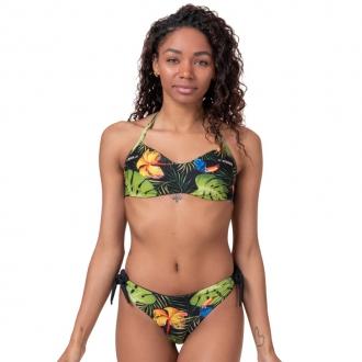 NEBBIA - Earth Powered bikini - vrchní díl 556 (jungle green)