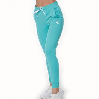 NDN - Dámské sportovní kalhoty MEZY (tyrkysově zelená)