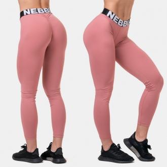 NEBBIA - Fitness legíny Squat HERO 571 (old rose)