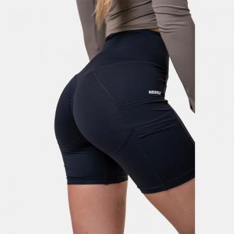 NEBBIA - Dámské cyklistické šortky Fit and Smart 575 (black)
