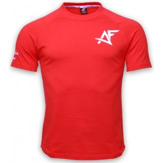 AESTHETIC FITNESS - Tričko se zúženým střihem (červené)