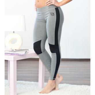 NDN - Elastické fitness kalhoty EVI (šedá)