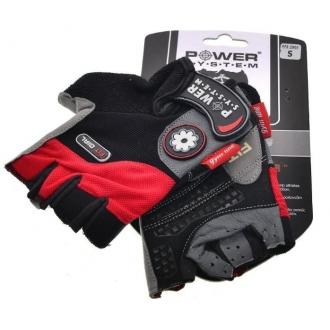 Power System - Dámské sportovní rukavice (červená) PS-2900