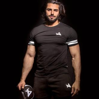 Aesthetix Era - Sportovní tričko pánkse (černá) (01.044)