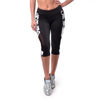 NDN - Tříčtvrteční fitness legíny LISA