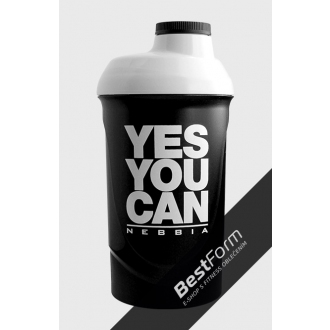 NEBBIA - Shaker YES YOU CAN (600ml)