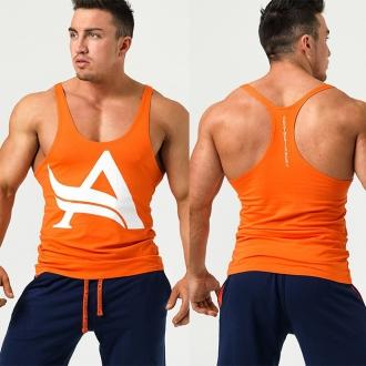 Aesthetix Era - Tílko na cvičení (oranžovo-bílá) (01.032)