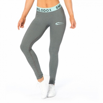 SMILODOX - Fitness legíny (modrá) 28027