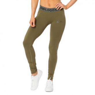 SMILODOX - Sportovní legíny dámske (zelená) 28101