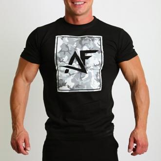 Aesthetic Fitness - Tričko MILITARY (černá)