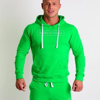 Aesthetic Fitness - Sportovní mikina pánská 1033 (zelená)