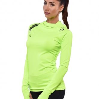 NDN - Dámský fitness nátělník YURI (neonově zelená)