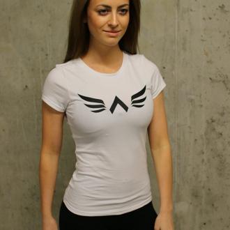 Exalted - Dámské fitness triko X1 (bílá)