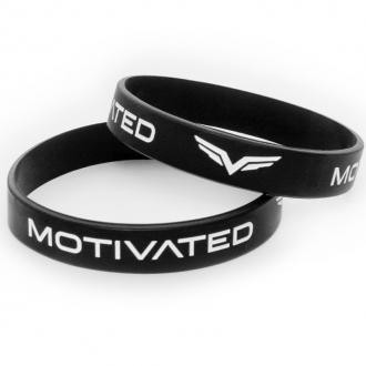 MOTIVATED - Pánsky náramek 101 (černo-bílá)