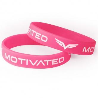 MOTIVATED - Dámský náramek 201 (růžovo-bílá)