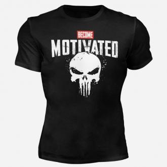 MOTIVATED - Tričko Buď motivován 302