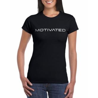 MOTIVATED - Dámské tričko 401 (černá)