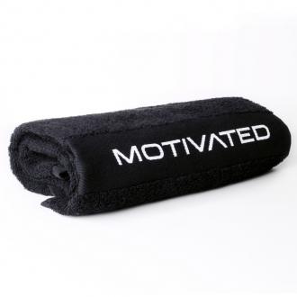 MOTIVATED - Ručník do posilovny 303 (černá)