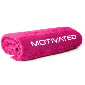 MOTIVATED - Ručník do posilovny pro ženy 404 (růžová)