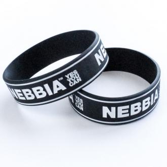 NEBBIA - Pánský náramek YES YOU CAN (černá)