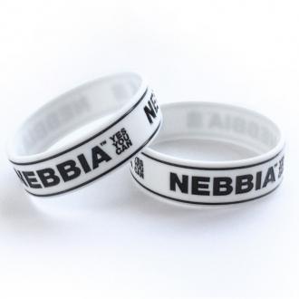 NEBBIA - Pánský náramek YES YOU CAN (bílá)