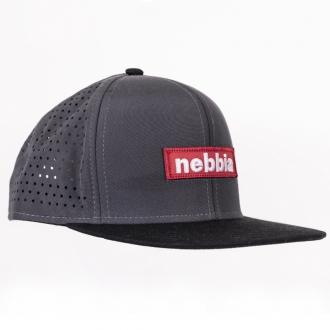 NEBBIA - Kšiltovka SNAPBACK 163 (šedá)