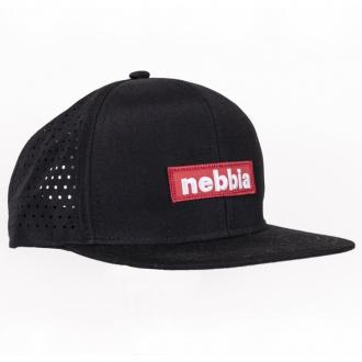 NEBBIA - Kšiltovka SNAPBACK 163 (černá)
