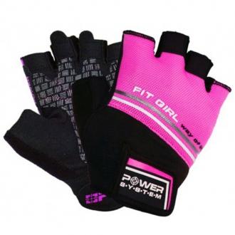 Power System - Fitness rukavice dámské (růžová) PS-2920