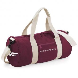 MOTIVATED - Fitness taška dámská (burgundy) 414