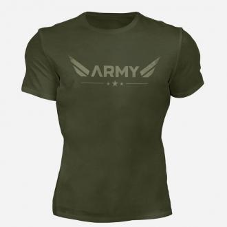 MOTIVATED - Triko ARMY (zelená) 330