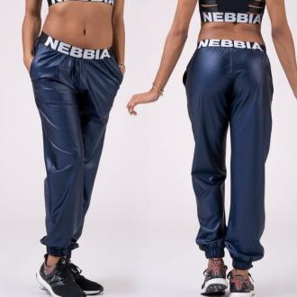 NEBBIA - Kalhoty DROP CROTCH 529 (blue)