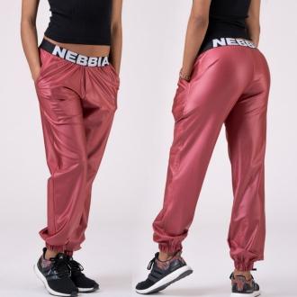 NEBBIA - Kalhoty DROP CROTCH 529 (peach)