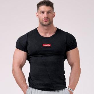 NEBBIA - Tričko pánské MUSCLE BACK 172 (BLACK)