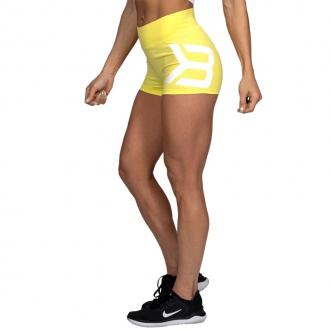 Better Bodies - Sportovní kraťasy dámské GRACIE 110869 (lemon yellow)