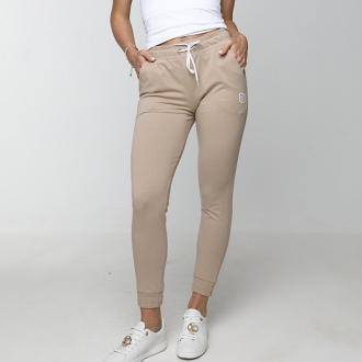 NDN - Dámské sportovní kalhoty MEZY (capuccino)