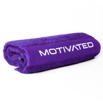 MOTIVATED - Fitness ručník 415 (fialový)