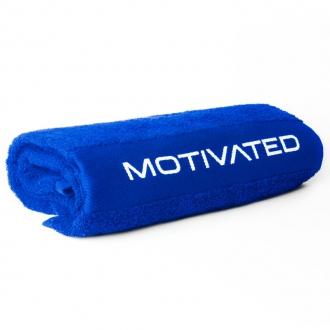MOTIVATED - Sportovní ručník 340 (modrý)