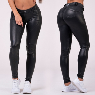NEBBIA - Bubble Butt Pants 539 (black)
