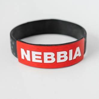 NEBBIA - Pánský náramek Red LABEL (černá)