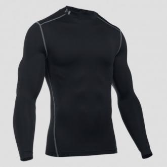 Under Armour - Kompresní tričko pánské dlouhý rukáv (černá) 1265648-001