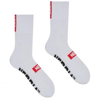 NEBBIA - Ponožky klasické unisex 103 (white)