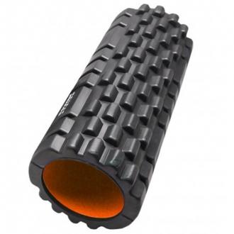 Power System - Fitness válec na cvičení (černo-oranžová) PS-4050