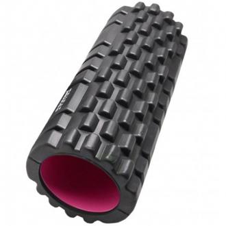 Power System - Fitness válec na cvičení (černo-růžová) PS-4050