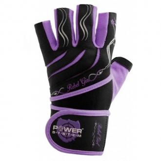 Power System - Dámské rukavice s omotávkou (fialová) (PS-2720)