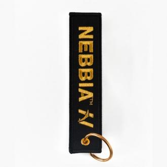 NEBBIA - Klíčenka GOLD (black)
